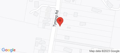 Location map for 34 Tynong Road Tynong