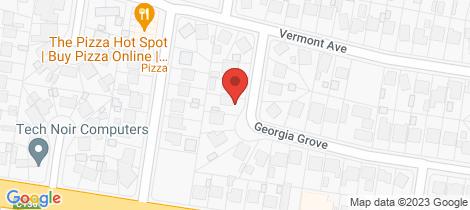 Location map for 5 Georgia Grove Corio
