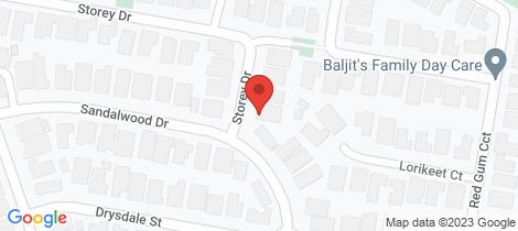 Location map for 87 Storey Drive Pakenham