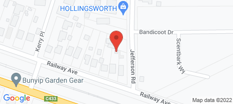Location map for 4 Railway Avenue Garfield