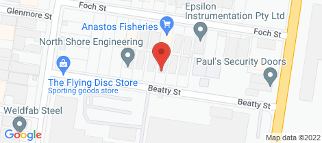 Location map for 12 Beatty Street, North Shore Geelong