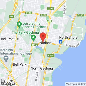 Map of O'Brien Electrical North Geelong at 17 The Boulevard, Norlane, VIC 3214