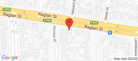 Location map for 156 Raglan Street Sale