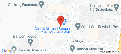 Location map for 2 Edols Place North Geelong