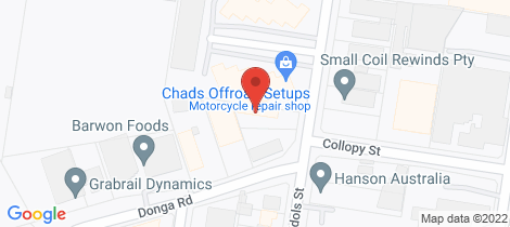 Location map for 39 Edols Street North Geelong