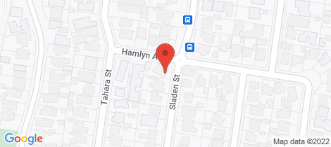 Location map for 34 Sladen Street Hamlyn Heights
