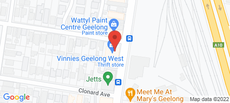 Location map for 53-55 Pakington Street Geelong West