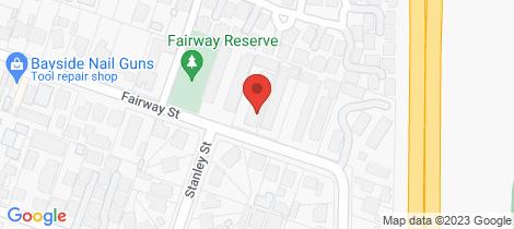 Location map for 2/19-21 Fairway Street Frankston