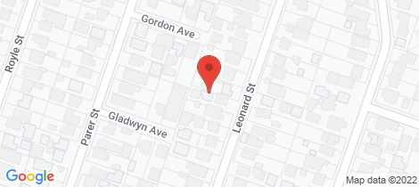 Location map for 1/27 Leonard Street Frankston
