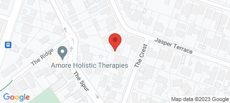 Location map for 3/19 Jasper Terrace Frankston South