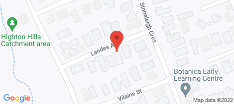 Location map for 7 Landes Avenue Highton
