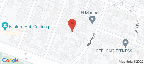 Location map for 7/22-24 Walter Street East Geelong