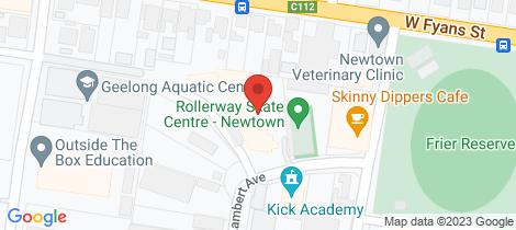 Location map for 1/10 Lambert Avenue Newtown