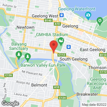 Map of O'Brien® AutoGlass Geelong at 473-475 Latrobe Terrace, South Geelong, VIC 3220