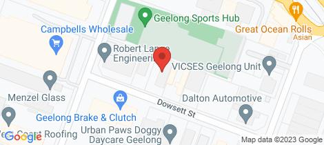 Location map for 2/3 Dowsett Street South Geelong