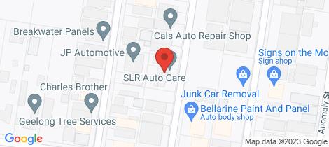 Location map for 58 Essex Street Moolap
