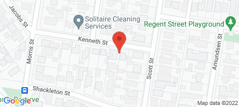Location map for 2/1 Kenneth Street Belmont