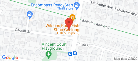 Location map for 4/144-152 Wilsons Road Whittington