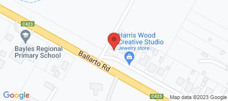 Location map for 3745 Ballarto Road Bayles