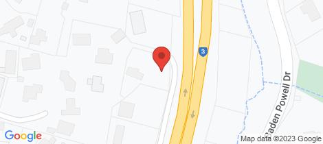 Location map for Lot 2/17 St Johns Lane Mount Eliza