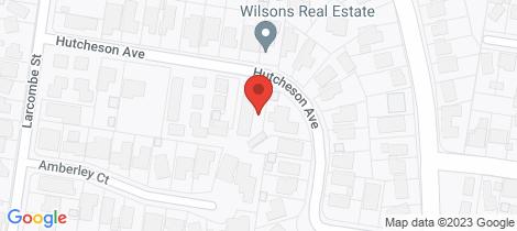 Location map for 3/23 Hutcheson Avenue Highton