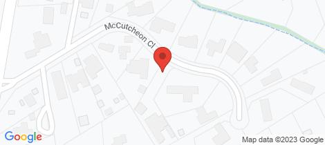 Location map for 14 McCutcheon Close Mount Eliza