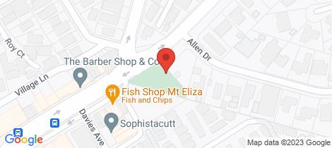 Location map for 31 Kiandra Street Mornington