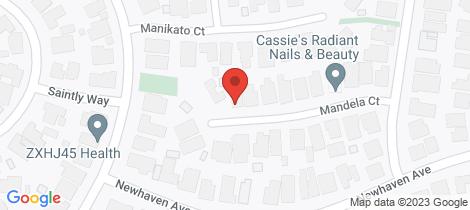 Location map for 20 Mandela Court St Albans Park