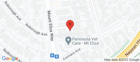 Location map for 16/193-197 Mount Eliza Way Mount Eliza