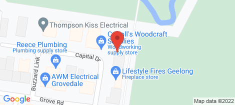 Location map for 8/10-14 Capital Drive Grovedale