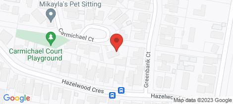 Location map for 30 Carmichael Court Leopold