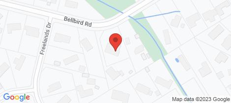 Location map for 66 BELLBIRD Road Mount Eliza