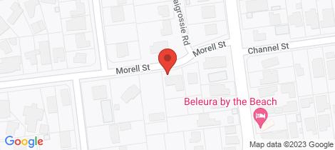Location map for 47 Morell Street Mornington