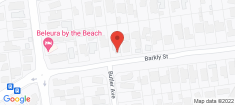 Location map for 160A Barkly Street Mornington