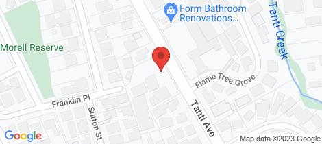 Location map for 12/14 Tanti Avenue Mornington