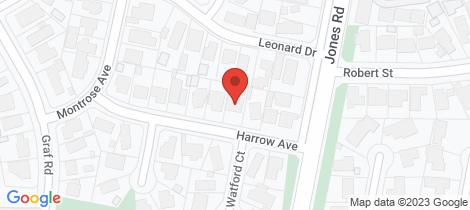 Location map for 4 Harrow Avenue Somerville