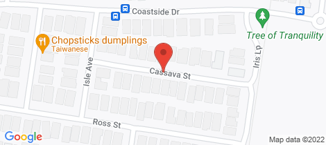 Location map for 16 Cassava Street Armstrong Creek