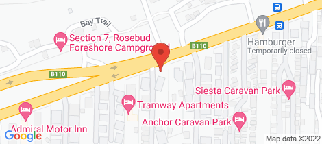 Location map for 2/777 Point Nepean Road Rosebud