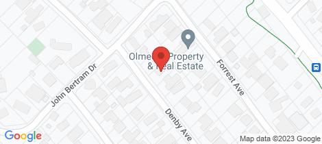 Location map for 18 Denby Avenue Sorrento