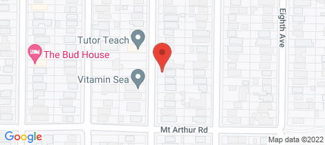 Location map for 73 Sixth Avenue Rosebud