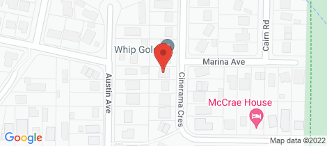 Location map for 91 Cinerama Crescent Mccrae
