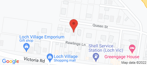 Location map for 17 Queen Street Loch