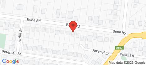 Location map for 15 Bena Road Korumburra