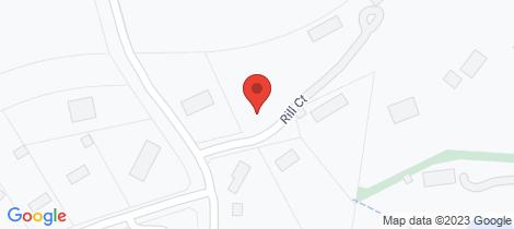 Location map for 3 Rill Court Korumburra