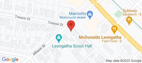 Location map for 7/7 Allison Street Leongatha