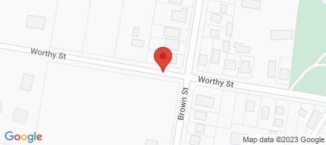 Location map for Lot 5 Worthy Street Leongatha