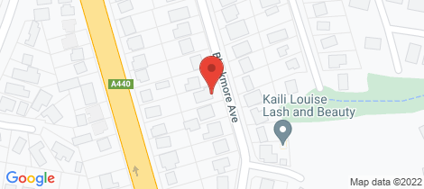 Location map for 22 Blackmore Avenue Leongatha