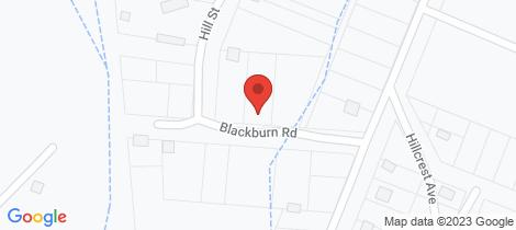 Location map for Lot 3/3 Blackburn Road Kilcunda