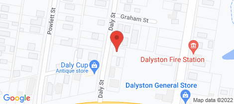 Location map for 53 Daly Street Dalyston