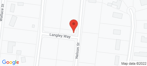 Location map for 55 Nelson Street Wonthaggi